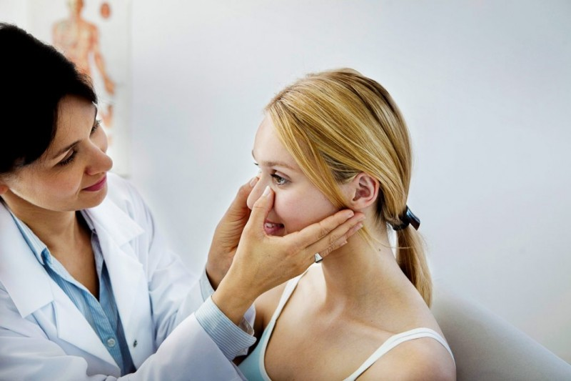 диагностика гайморита