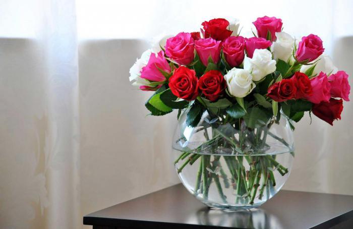 Как продлить жизнь розам в вазе? Уход за срезанными розами.